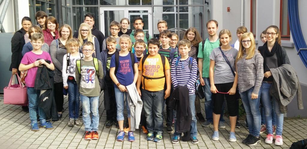 Die Teilnehmer der Fahrt.