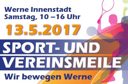 Sport- und Vereinsmeile am 13. Mai 2017