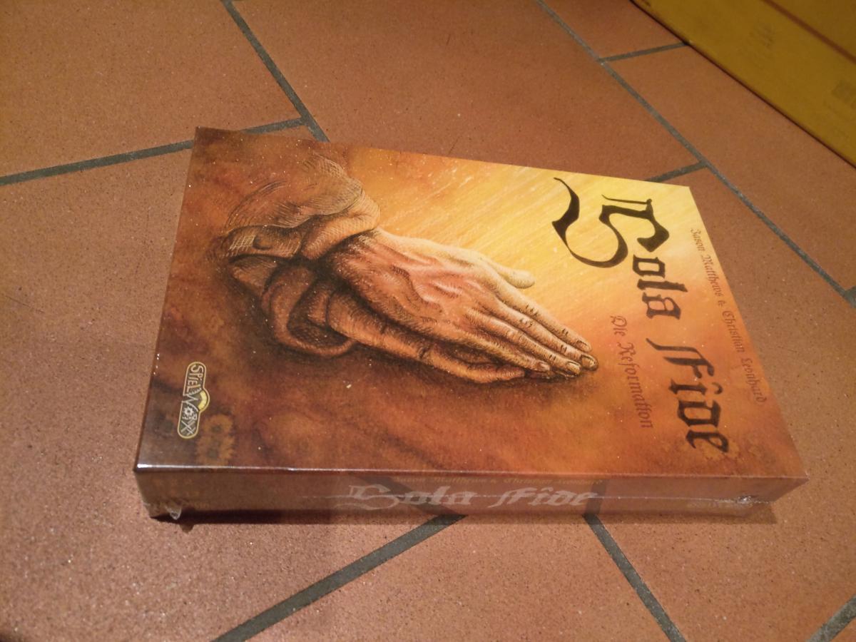 Sola Fide - passend zum Reformationsjubiläum ein Spiel zur selbigen