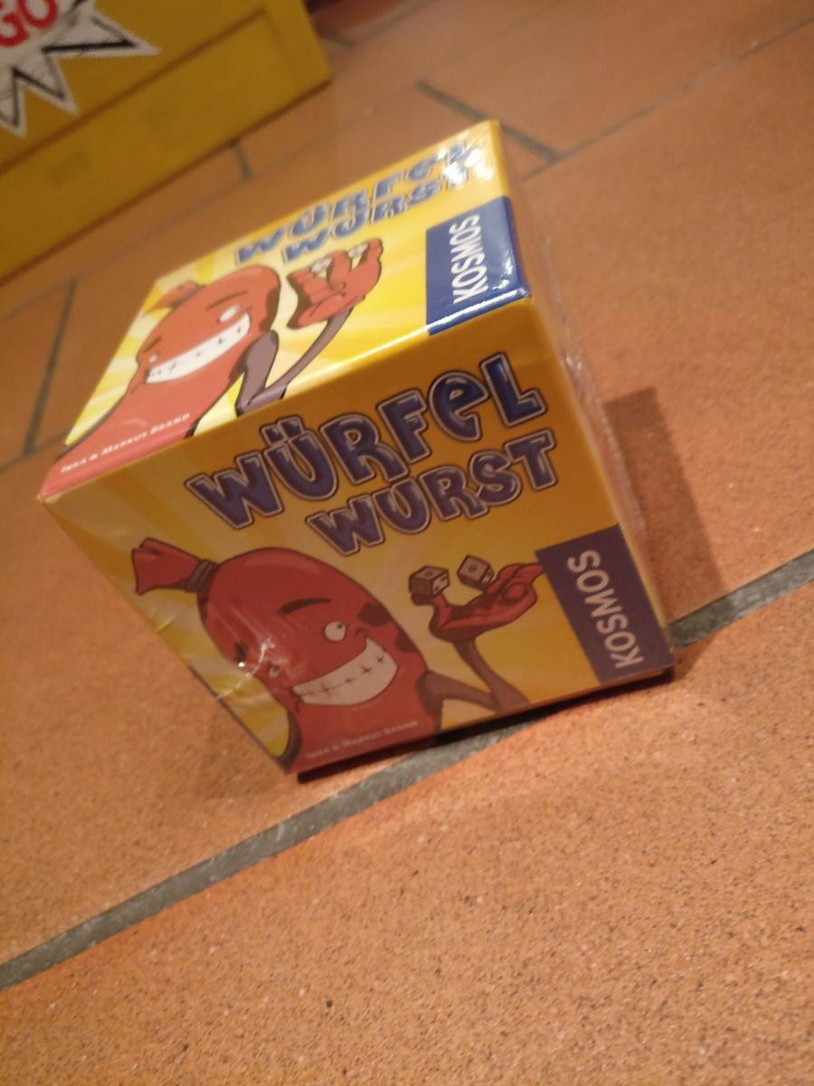 Würfelwurst